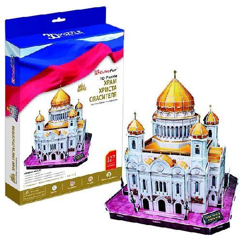 Модель для сборки Храм Христа Спасителя Cubic Fun