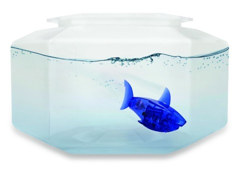 Аквариум с робо-рыбкой