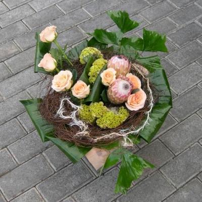 Букет из цветов №358