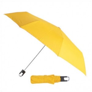 Складной механический зонт Twist  (желтый)