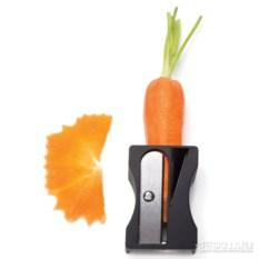 Черный инструмент для декоративной нарезки овощей Karoto