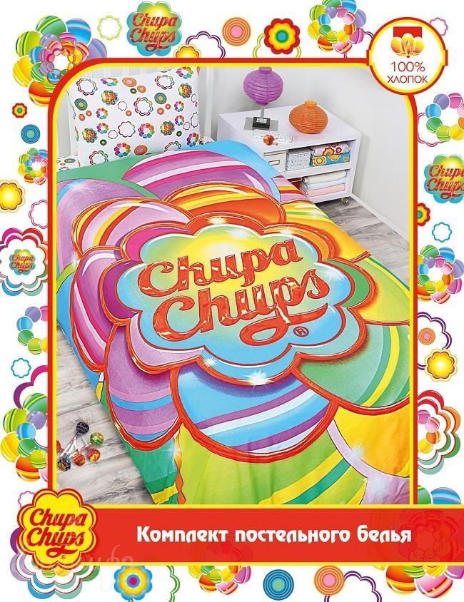 Детское постельное белье Chupa-Chups. Радужный цветок