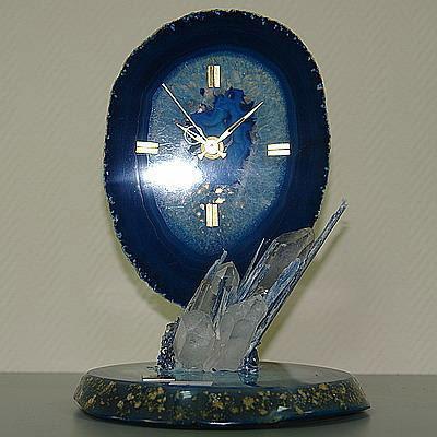 Часы «Голубой агат»