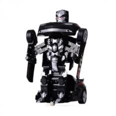 Черный радиоуправляемый робот-трансформер Десептикон