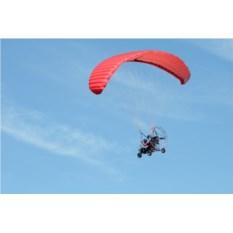 Полет на параплане с мотором