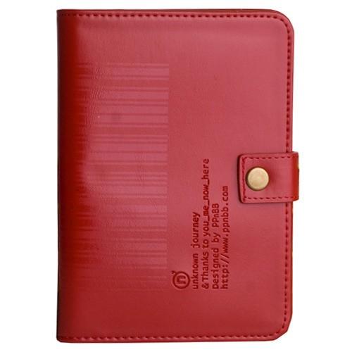 Обложка для паспорта/документов Штрихкод - Wine