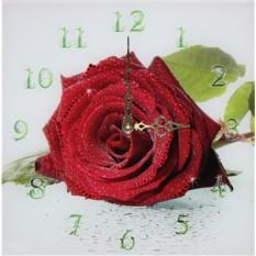 Часы с кристаллами Swarovski Роза