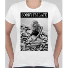 Женская футболка Sorry