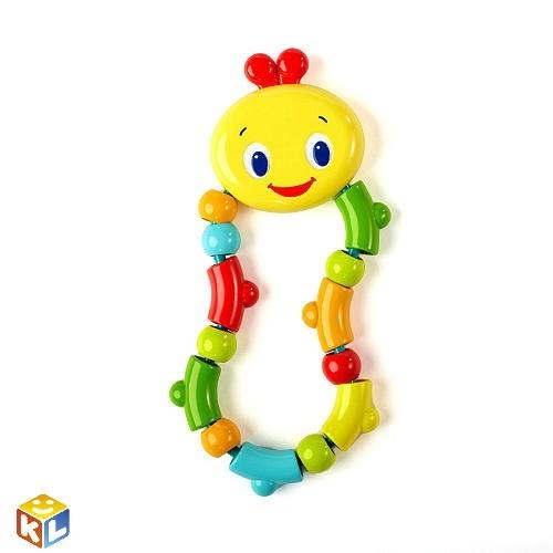 Развивающая игрушка-прорезыватель Гусеничка