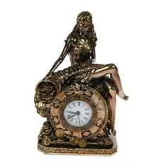 Настольные часы Богиня счастья и удачи