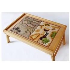 Столик для завтрака в постель «Романтический ужин»