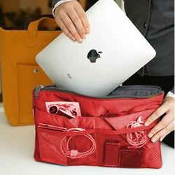 Органайзер для женской сумки в виде чехла Ipad (красный)