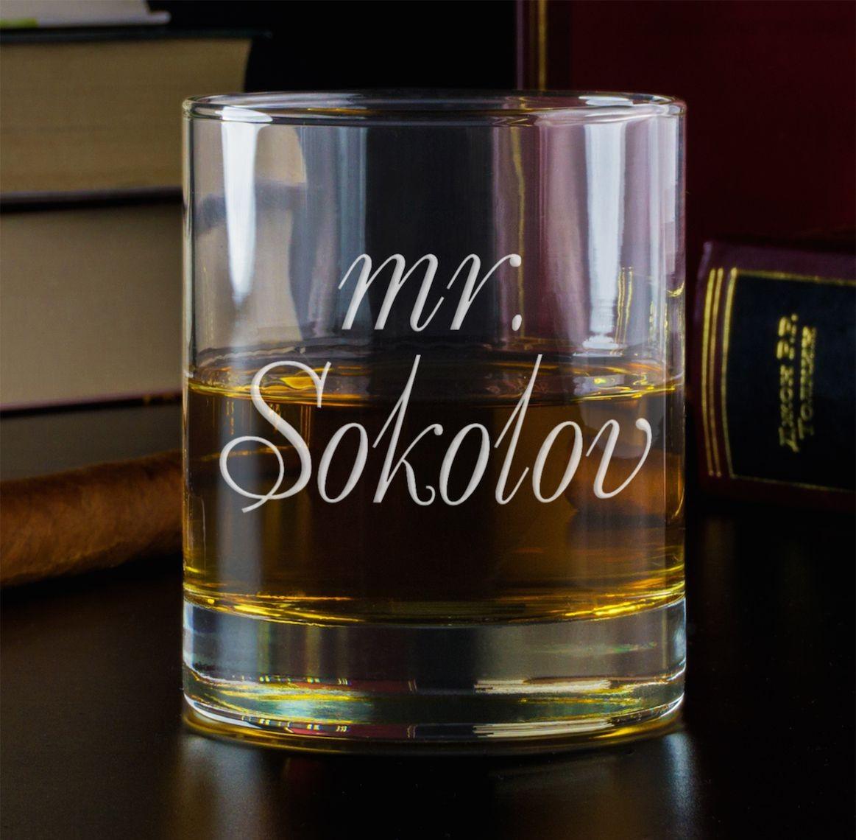 Бокал для виски Mister