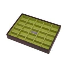 Коричневый лоток для хранения украшений LC Designs