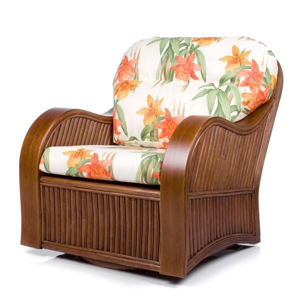 Кресло-качалка (гляйдер) с подушкой Bonita