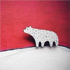 Брошь Polar Bear