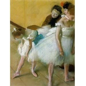 Репродукция картины Экзамен танца