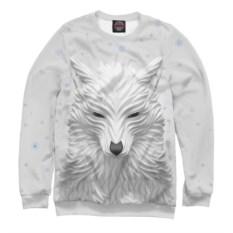 Мужской свитшот 3D Волк