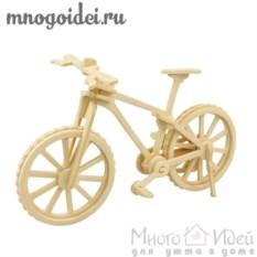 Деревянный конструктор 3D Велосипед