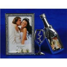 Фоторамка Свадебное шампанское