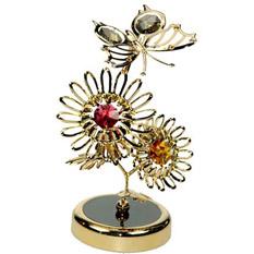 Фигурка декоративная «Бабочка на цветах»