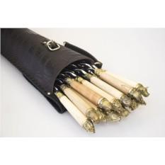 Шашлычный набор «Звери» на 12 шампуров