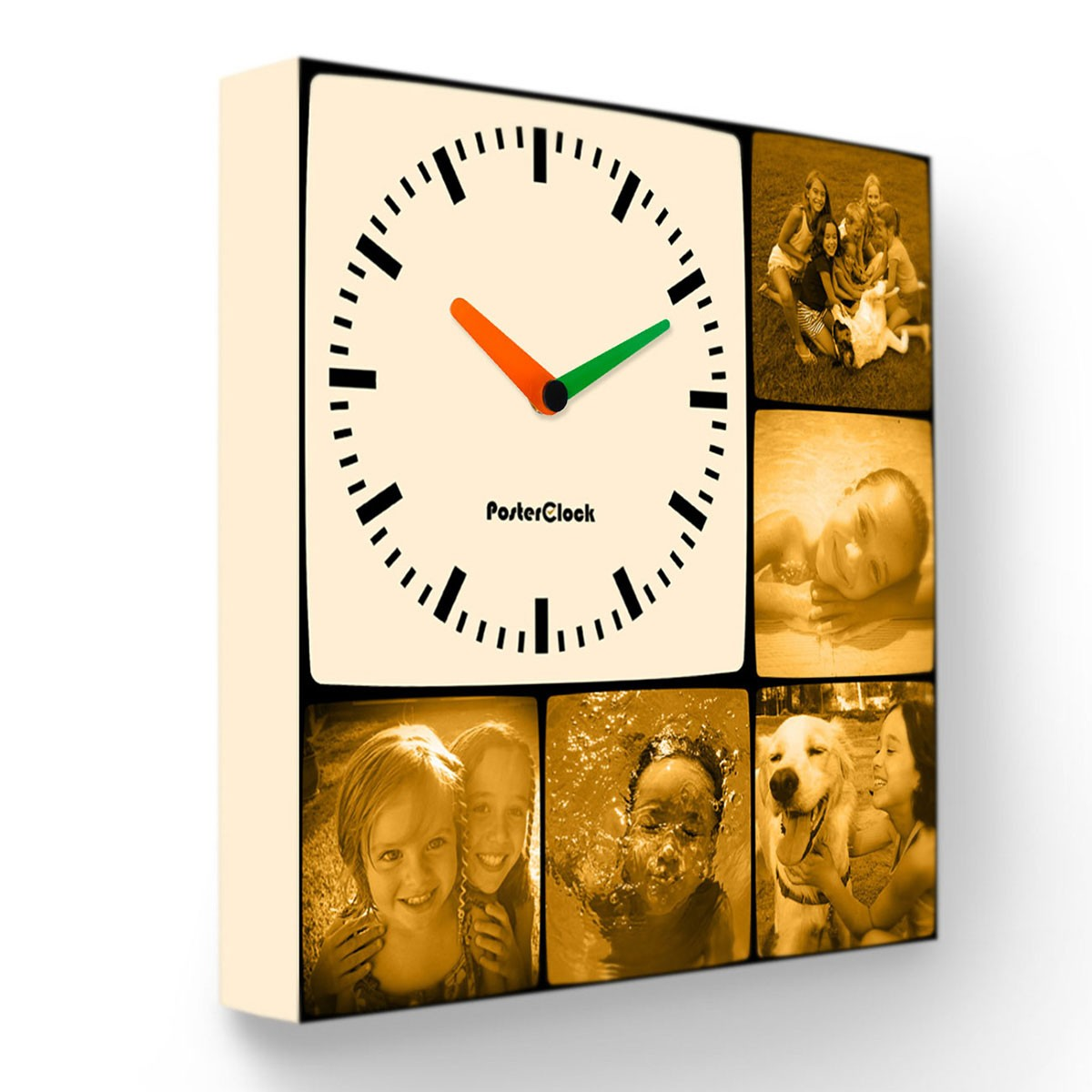 Дизайнерские часы с вашими фотографиями