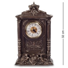 Часы в стиле барокко Херувим