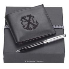 Подарочный набор из портмоне и шариковой ручки