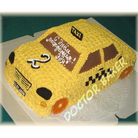 Корпоративный торт «Такси»