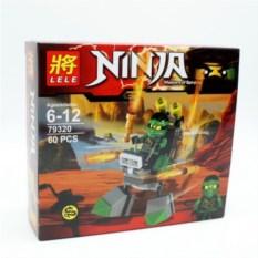 Конструктор Lele Ninja, 60 деталей