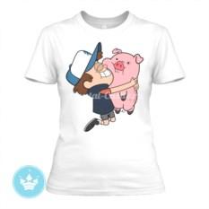 Женская футболка Диппер Пайнс