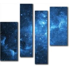Модульная картина «Созвездия» 80×71 см