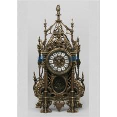Часы из бронзы с маятником Севилья