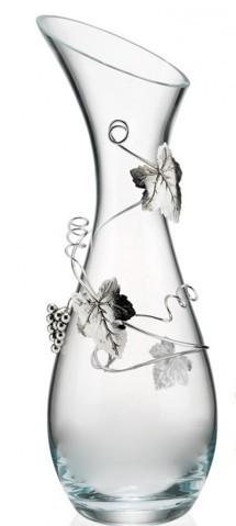 Хрустальная ваза Лоза дольчетто, листья