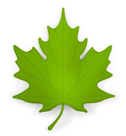 Зеленая подпорка для двери Autumn