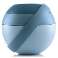 Синий ланч-бокс для салатов Zero