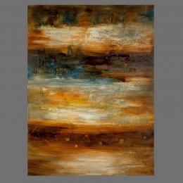 Картина «Цветной ливень», холст, масло.