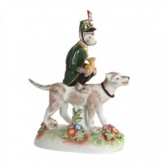 Статуэтка Обезьяна с собакой