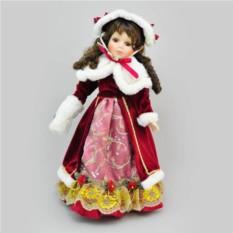 Коллекционная фарфоровая кукла Варвара