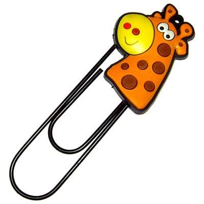 Закладка-скрепка «Жираф»
