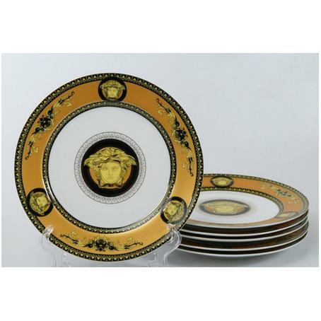 Набор тарелок для второго из 6  штук Versace