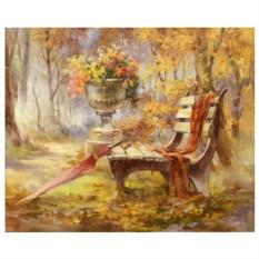 Картина-раскраска Листопад