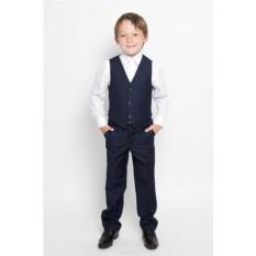 Комплект для мальчика из жилета и брюк S'cool