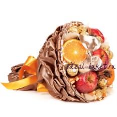 Букет из фруктов и конфет Пунш