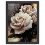 Картина (репродукция) Невинная роза (Белые розы)