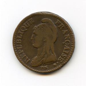 Монета «2 десема»