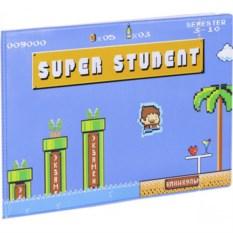 Обложка на зачетную книжку Super student