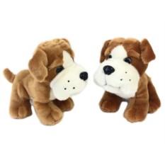 Мягкая игрушка Собака, высота 18 см