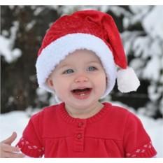 Детский новогодний колпак